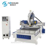 China Automatic Two Heads Cnc Wood Engraving Machine With Drilling Sets 1300*2500*200mm wholesale