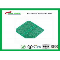 China 1 Layer CEM 1 PCB 1.6mm 1OZ Green Solder Mask E-TEST with Fiducial Marks wholesale