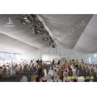China 20m Width Outdoor Event Tents , Full Decorations Large Tents For Outdoor Events wholesale