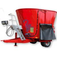 China Commercial Cow Feed Mixer , Cow Feeding Machine With 1pcs LCD Display wholesale