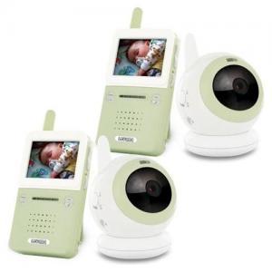 China 7 LCD Wireless Signal Baby Monitor with 1 Pcs Dual CCTV Camera/Audio & Video/Day & Night wholesale