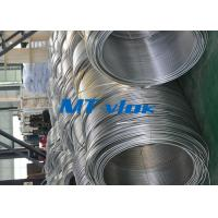 China 3 / 8 Inch ASTM A269 Small Diameter Stainless Steel Welded Super Long Coiled Steel Tubing wholesale