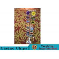 China Casino Acrylic Poker Chips Case Casino Chips Carrier For Round 40 - 42mm Chips wholesale