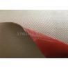 China Chemical Corrosion Silicone Coated High Silica Fiberglass Fabric Cloth Multi Color wholesale