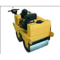 China Hydraulic Double Drum Compactor Road Roller Cast Iron / Steel Material 600kg wholesale