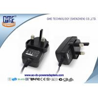 China CE / ROHS 3 PIN 12V Power Adapter For DVD , Various DC Plugs Available wholesale