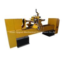 Quality CNC Wood Turning Broaching Engraving Machine with Single Axis Double Blades for sale