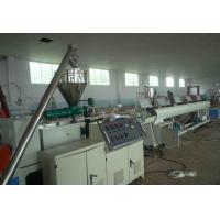 China PVC 4 - Cavity Pipe Extrusion Production Line / Plastic Pipe Threading Machine wholesale