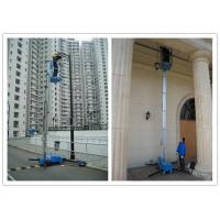 China Office Buildings Personnel Lift Platform , 160kg Rated Load Electric Ladder Lift wholesale