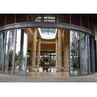 China Single Panel Glass Partition Wall , Conference Hall Glass Office Partitions High Strength on sale