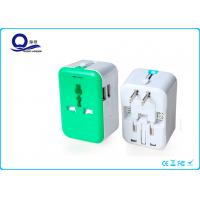 China Auto Protection Universal USB Mains Charger Adapter With 5V 2.4A Dual USB Port wholesale