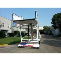 China Flexible Aircraft Passenger Stairs , Steps To Boarding A Plane Easy Maintain wholesale