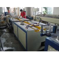 China PVC WPC Profile Wide Door Frame Making Machine Plastic Profile Extrusion Machine wholesale