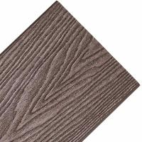 China 150*25mm  3D deep online patten  wood plastic composite decking wholesale