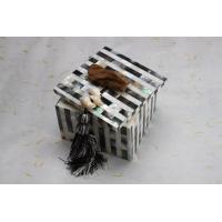 China Hand Paint White Dining Table Ornaments Box for Small Kits wholesale