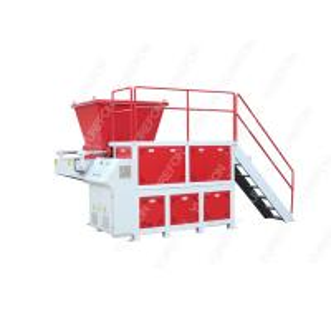 China SN - S3980 Single Shaft Plastic Shredder Machine For Garbage Waste Clothes Fiber wholesale
