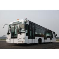 China Adjustable Seat Airport Transfer Bus , Front Axle MERCEDES BENZ 733.W14 Left Hand Drive Bus wholesale