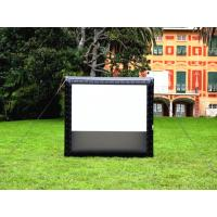 China Giant Inflatable Movie Screen Projection Screen Outdoor Movie Display For Events on sale