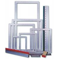 China pre-stretched aluminum alloy silk screen printing frames wholesale