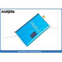 Buy cheap Lightweight FPV Video Transmitter and Receiver Mini Wireless Video Sender with 1.2Ghz 5000mW product
