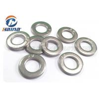 China A2 A4 Stainless Steel 316 Flat Washers DIN125 DIN9021 M2 - M56 For Fastener Connection wholesale