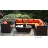 Quality outdoor sofa furniture rattan modular sofa --9035 for sale
