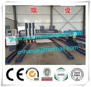 China Plasma Cutting Machine For Metal Steel , Hypertherm CNC Plasma Cutting Machine wholesale