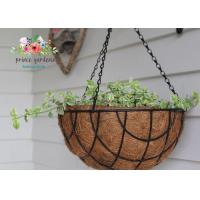 Buy cheap Fashion Colorful Decorative Hanging Flower Pots Garden Ornamental from wholesalers