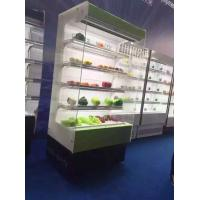China R404A Convenient Store Open Multideck Display Showcase Chiller For Milk wholesale