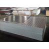 China Pointer Pattern Lightweight Aluminum Sheets , 3003 5052 Aluminium Floor Plate wholesale