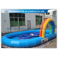 China Large Inflatable Water Pool Water Pond For Backyard With Durable 0.9mm Pvc Tarpaulin wholesale