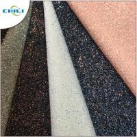 China Grade 3 Glitter Leather Fabric Style Mixed Attractive High Brightness wholesale