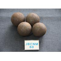 China Grinding-Resisting Grinding Balls For Mining B2 D60MM Hot Rolling Steel Balls wholesale