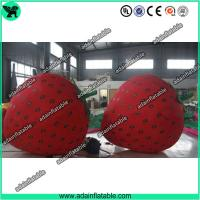 China Fruits Festival Inflatable Model Holiday Event Inflatable Strawberry wholesale