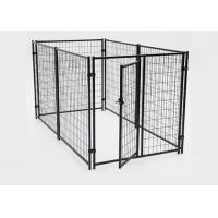 China Simple Setup Metal Dog Kennel Dog Runs For Large Dogs Corrosion Protection on sale