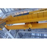 China Electromagnetic Double Girder Overhead Crane Travelling Bridge Crane With Grab Bucket wholesale