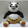 China Cute Kungfu Panda Sitting Pose Cartoon Plush Toys For Collection wholesale