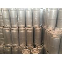 China US standard beer keg 5gallon capacity slim shape, with Sankey D type spear for brewing wholesale