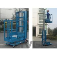 China 2.8m Mast Type Hydraulic Self Propelled Elevating Work Platforms For Cargo wholesale