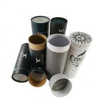 China EVA Insert Custom Printed Paper Tubes For Clothes / Cylinder Cardboard Box wholesale