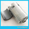 China Permanent Ferrite Arc Magnet SrO / Bao / Fe2O3 Material For Motor Generator wholesale