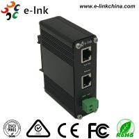 China 12-48VDC Power Input Industrial Gigabit POE+ Injector, Standalone, Support Din-Rail and Wall Mounting wholesale