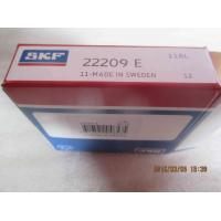 Buy cheap Double Row Spherical Roller Bearings 22209E Steel Cage For Machine Bed product