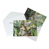 China Custom 3D Lenticular Printing Services CMYK Offset Printing Greeting Card In PP Plastic wholesale