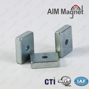 China N48 block sintered ndfeb magnet wholesale