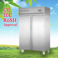 China Commercial Upright Freezer , Kitchen Refrigerator Freezer CE CB wholesale