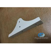 China Nature Color Aluminium Extrusions Shapes With Hole Punching SGS wholesale