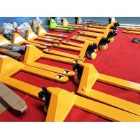 Quality High Lift Manual Pallet Truck 5000kg Rated Loading Capacity For Materials for sale