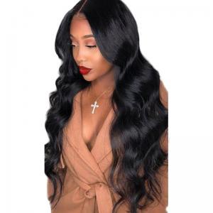 China Swiss Lace 1b 490gram Peruvian Human Hair Lace Front Wigs wholesale