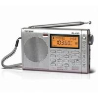 China TECSUN PL450 FM stereo SW MW LW PLL Shortwave Digital Full Band Portable Radio Synthesized Receiver wholesale